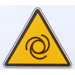 Panneau danger d'installation à enclenchement automatique