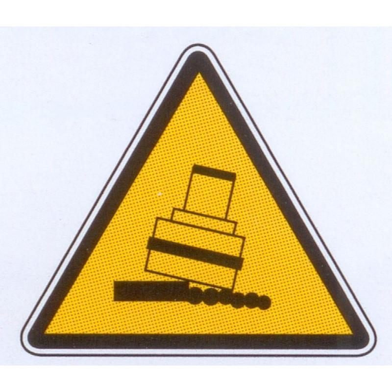 Panneau danger broche de fraisage