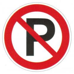 Panneau parking interdit