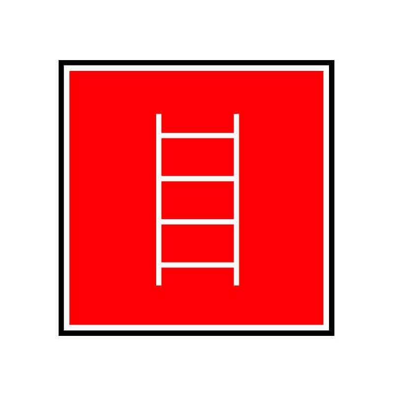 Panneau ou autocollant indiquant une échelle
