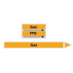 Marqueur de tuyaux CLP Gaz