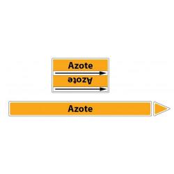 Marqueur de tuyaux CLP Azote