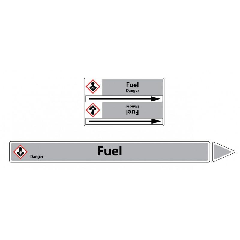 Marqueur de tuyaux CLP Fuel