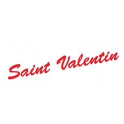 "Adhésif ""Saint Valentin"" en lettrage"