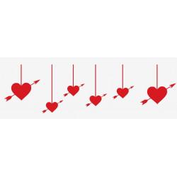 Kit deco Saint Valentin coeur
