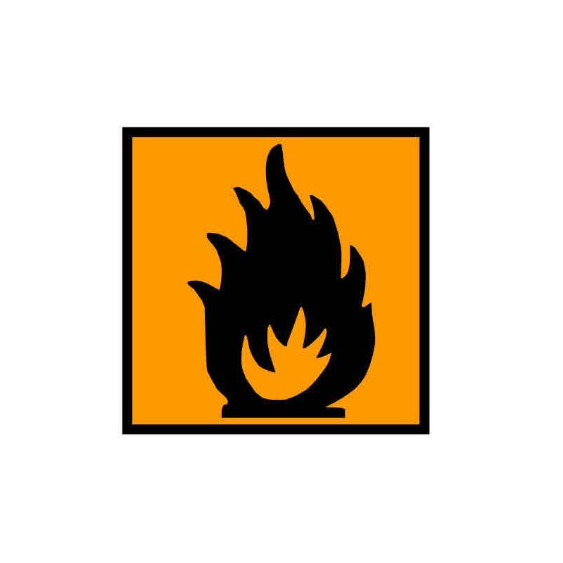 Panneau ou autocollant INRS produits inflammables