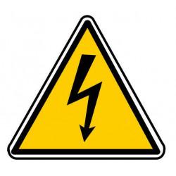 Panneau ou autocollant danger électrique ou électrocution