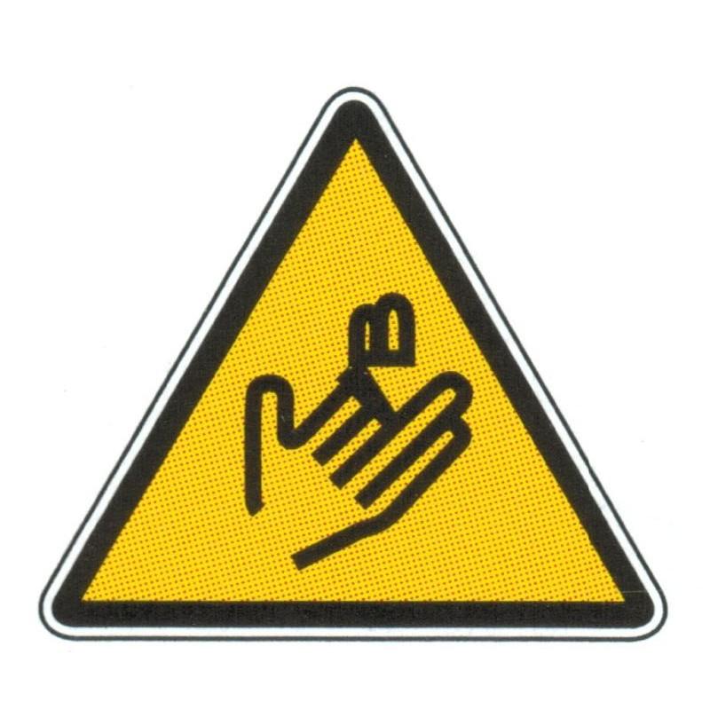 Panneau danger risque explosif